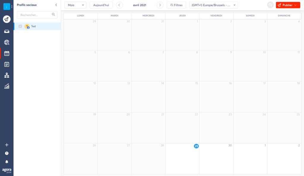outil pour programmer ses posts sur les réseaux sociaux : Agorapulse. Découvrez le tableau comparatif de CYGNUM des différents outils pour planifier ses posts réseaux sociaux
